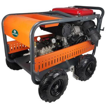 克麦尔 汽油高压清洗机,KM-Q500HD 12V 25HP 500bar 15L/min