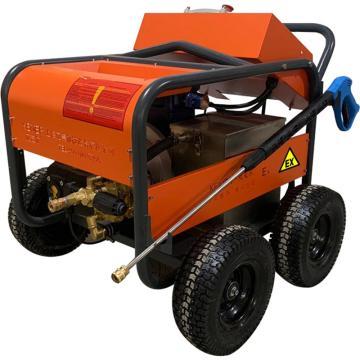 克麦尔 电动防爆高压清洗机,EX-1520 380V 4.5KW 150bar 20L/min