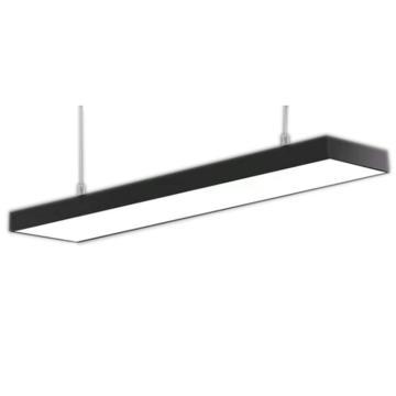 格瑞捷 LED办公灯,72W,白光,BGD72,黑框直角,1米吊线安装,单位:套