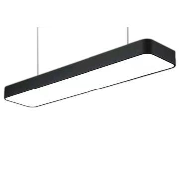格瑞捷 LED办公灯,72W,白光,BGD72,黑框圆角,1米吊线安装,单位:套