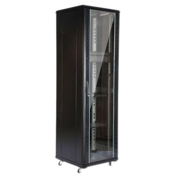 图腾 网络机柜,(玻璃门 3块板子 1个PDU 1组风扇 40套螺钉 4个支脚 4个脚轮 1个内六角,G26637标配