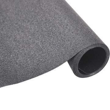 安赛瑞 全黑色免胶磨砂防晒玻璃贴膜贴纸,30cmx5m