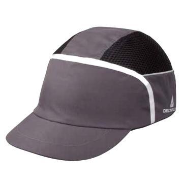 代尔塔DELTAPLUS 运动安全帽,102250,减震蜂窝结构 灰色