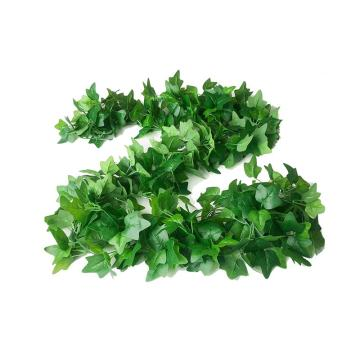 安赛瑞 仿真精品爬山虎绿植塑料吊顶藤蔓植物,室内装饰物,长约2m叶Φ6cm(96片叶),5条