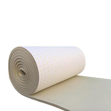 安赛瑞 米白色吸音隔音防水棉自粘,阻燃隔音板,厚3cm,1x10m