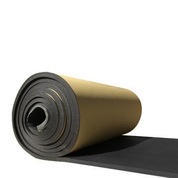 安赛瑞 黑色吸音隔音防水棉自粘,阻燃隔音板,厚3cm,1x10m