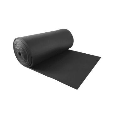 安赛瑞 黑色吸音隔音防水棉,阻燃隔音板,厚5mm,1×10m,不带背胶