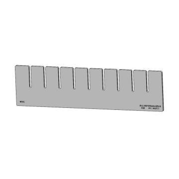 德科 隔板条,DK/QP/9-6512/0005,650x120x5mm