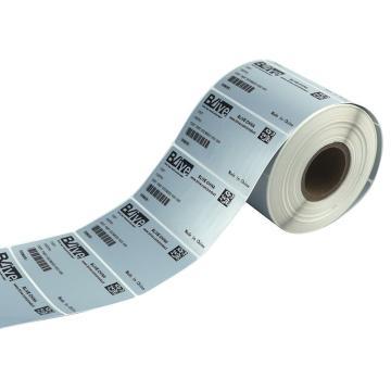 Blive 耐医用酒精耐机油耐汽油擦拭-亚银-PET,50mm×50mm×3600张/卷,BL-50×50-YY-N,5卷/包