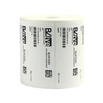 Blive 耐医用酒精耐机油耐汽油擦拭-亮白-PET,90mm×30mm×3400张/卷,BL-90×30-LB-N,5卷/包