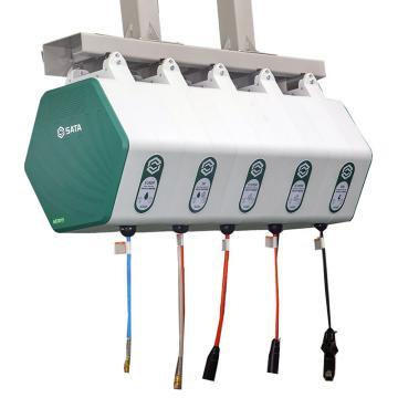 世达SATA 可组合式气管卷管器,Φ6.5*10M,AE3004