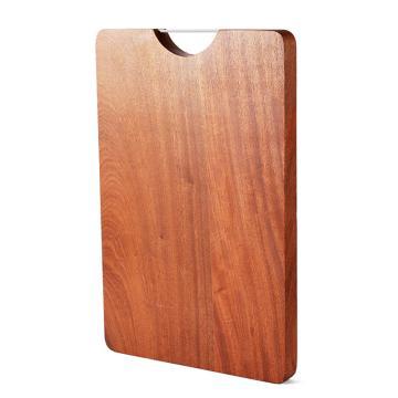 唐宗筷 C5503,40*29,5*2cm,家用厨房沙比利实木砧板 深棕色(单位:个)