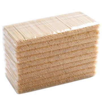 唐宗筷 C1903,500支*10包,双尖头竹牙签(单位:盒)