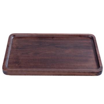 唐宗筷 C5801,35*23cm,木制方形茶托盘 黑胡桃色(单位:个)