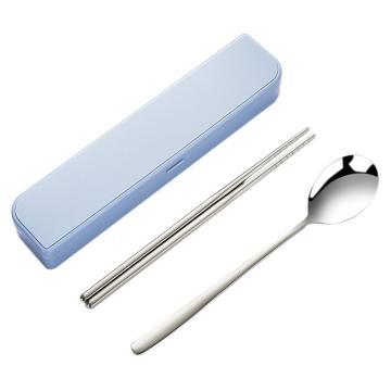 唐宗筷 C6027,304不锈钢筷子勺子,餐具便携套装(单位:套)