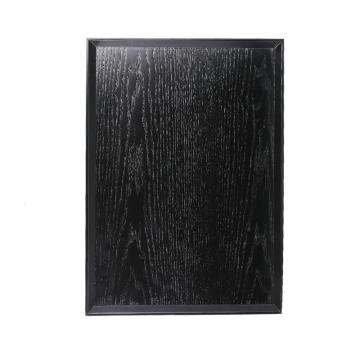 ,唐宗筷 C6326,39*28cm,木质方形托盘,黑色(单位:个)