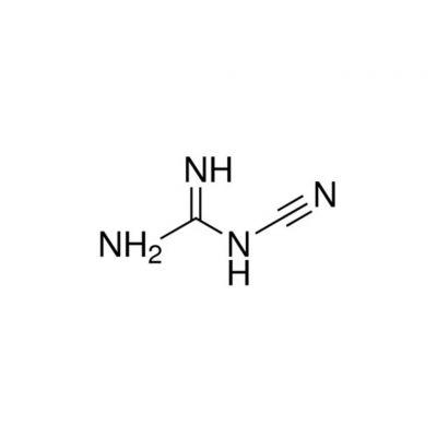 双氰胺,CAS号:461-58-5,500g/瓶,CP,20瓶/箱