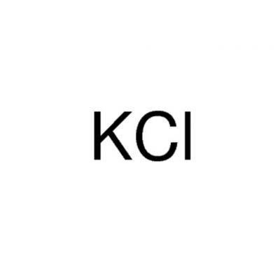 氯化钾,CAS号:7447-40-7,50g/瓶,PT,20瓶/箱