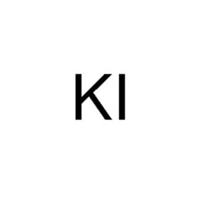 碘化钾,CAS号:7681-11-0,500g/瓶,g/瓶R,20瓶/箱