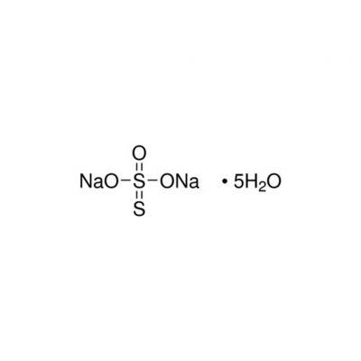 硫代硫酸钠,CAS号:10102-17-7,500g/瓶,g/瓶R,20瓶/箱