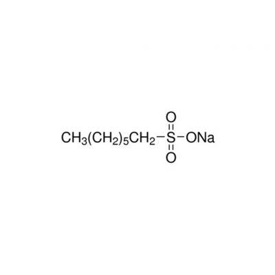 1-庚烷磺酸钠,CAS号:22767-50-6,25g/瓶,离子对,20瓶/箱