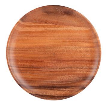 唐宗筷 C6306,25*1.8cm,相思木圆盘子(单位:个)