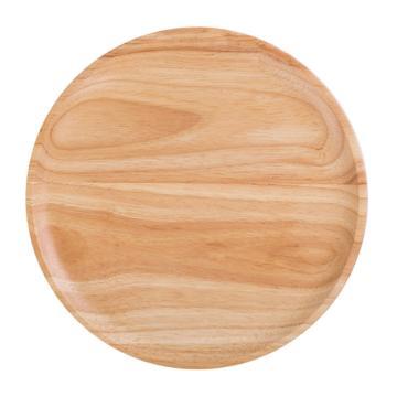 唐宗筷 C5806,27cm,橡胶木圆形托盘(单位:个)