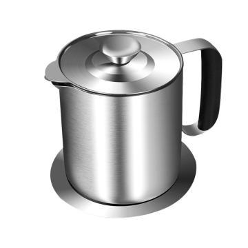 诺派(NUOPAI) C6039,304不锈钢油壶,过滤油壶,家用防虫,过滤网油瓶,酱油瓶,厨房用品防漏储油罐,1L