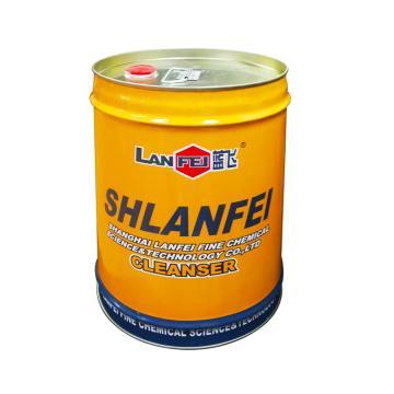 蓝飞 机电设备清洗剂J-1,20L桶装 风电设备清洗剂 单位:桶
