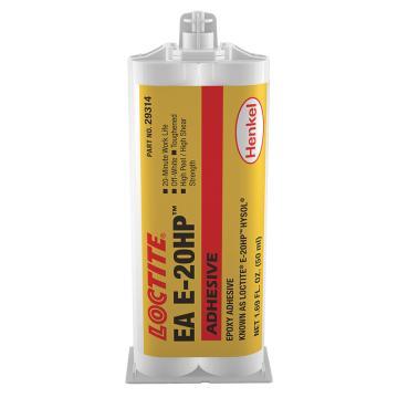 乐泰 环氧胶 结构粘结,Loctite E-20HP 高强度型 AB胶,50ml