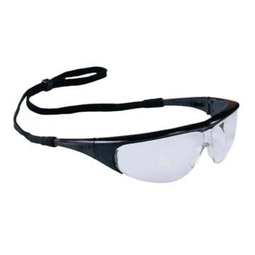 霍尼韦尔Honeywell 防护眼镜,1002781,防雾眼镜 黑色镜框 透明镜片