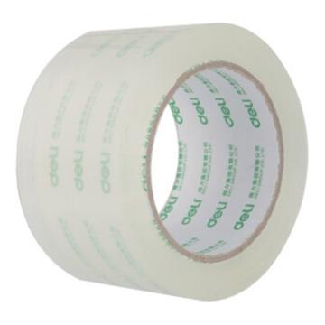 得力 DL30334/60mm*150y 封箱胶带无色透明