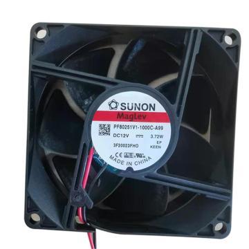 建准 散热风扇(80×80×25mm),PF80251V1-000C-A99,4.1W,DC12V
