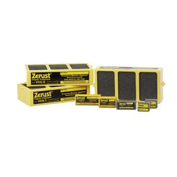 Zerust 气相防锈胶囊VC 2-2,防护容积1m3,防护半径0.6m,防护周期2年,10个/箱,带背胶
