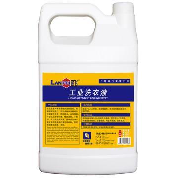 蓝飞 工业洗衣液,Q31-1 1GAL 去油污洗衣液 单位:桶