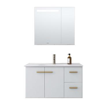 九牧 轻奢浴室柜,A2257-021A-4