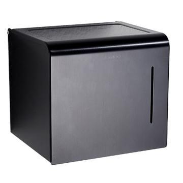 九牧 纸巾盒,304不锈钢挂件浴巾架毛巾架卫生间置物架浴室挂件套餐,939044-LE-1