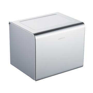 九牧 不锈钢纸巾盒,五金挂件防水卫生间纸巾盒纸巾架厕纸盒创意卷纸筒厕所卫生间,939004-AB-1