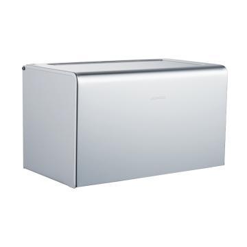 九牧 太空铝加长纸巾盒,加长太空铝厕纸架厕所纸巾盒卫生间卫生纸盒防水,939010-7Z-1