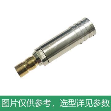 海乐 2M两兆头CC3(75-2)视频接头公头 同轴电缆接头DDF射频线连接器10个装 2M-CC3