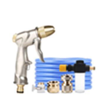 西域推荐 高压水枪,铜接头,15米蓝色水管 单位:套