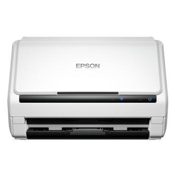 爱普生(EPSON)高速馈纸自动双面A4彩色无线wifi连续扫描仪,DS-570WII