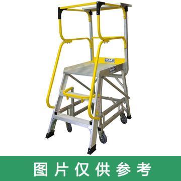 稳耐 大力神系列平台梯,梯级数:6 额定载荷(KG):170 平台高度(MM):1656,FS13594