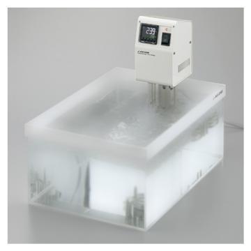 亚速旺 数字式恒温水槽主体(不带图中的水槽),尺寸:105×142×320mm,HT-90DN,1-916-11