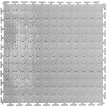"""丽施美 """"瑞盾""""工业拼接式耐磨防滑垫,主体 50*50cm 灰色 单位:块"""