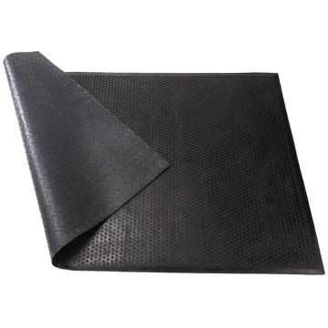 """丽施美 """"特瑞""""耐压耐油橡胶防滑垫,0.9*1.5m 黑色 单位:块"""