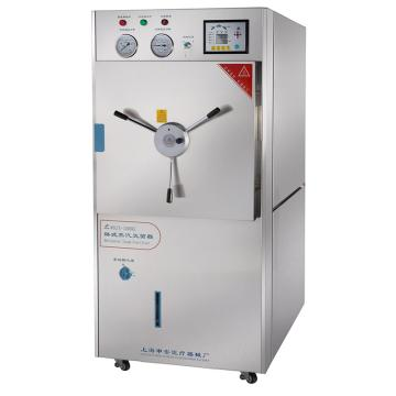 申安 300立升卧式蒸汽灭菌器,智能半自动控制型,WDZX-300L