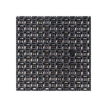 """丽施美 """"首维""""拼装式刮砂防滑地垫,主体 20*20cm 黑色 单位:块"""