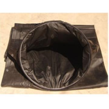 盛利 柔性抗冲击塑料涂覆布变径风筒,φ1000mm*/φ800mm