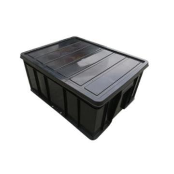 西域推荐 防静电塑料胶框,6号,545*420*240mm,配盖